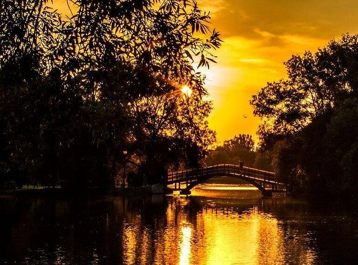 """Is this golden shot of the Avon the very definition of """"gorgeous""""? We're pretty sure it is."""