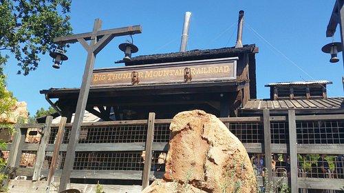 Big Thunder Mountain Railroad entrance