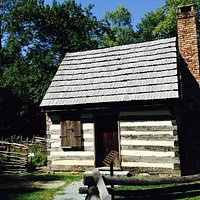 Benjamin Banneker log cabin within the Historic Park