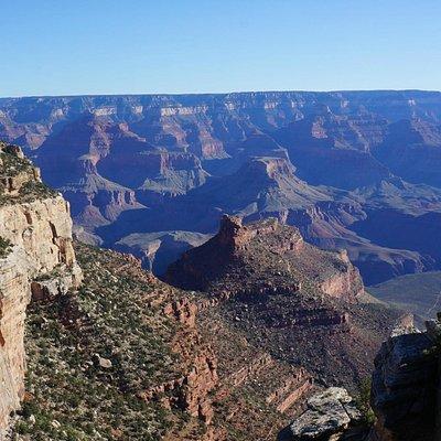 в западной части каньона