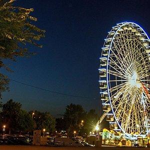 колесо в ночи