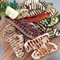 Tris di Carne con verdure alla griglia