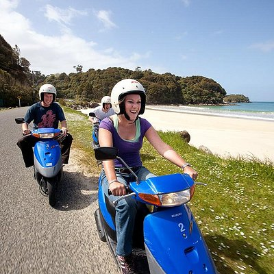 Stewart Island Experience - Rental scooters