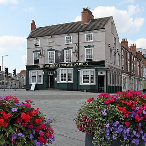 Traditional pub at the heart of Canning Circus, Nottingham