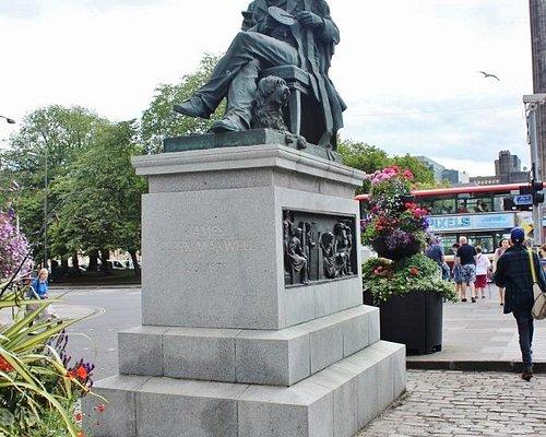 James Clerk Maxwell Statue, Edinburgh, Scotland, Aug 2015