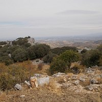 Limestone country above Zuheros