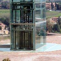 ascensore in cristallo