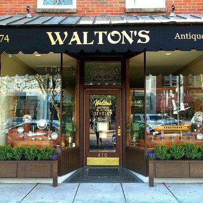 Walton's Storefront on Main Street