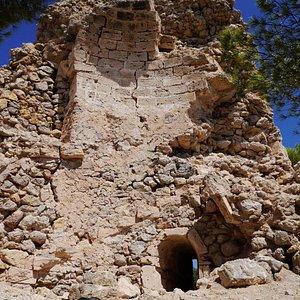 Watchtower ruins near Capdepera Lighthouse