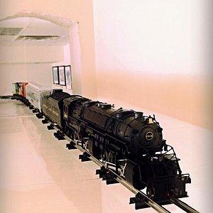 The overhead train!