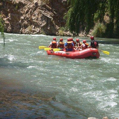 Rafting en el Atuel