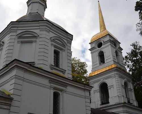 Церковь с колокольней
