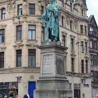 William Pitt Statue, Edinburgh, Scotland, Aug 2015