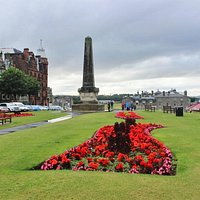 Martyrs Monument, St. Andrews, Scotland, Aug 2015