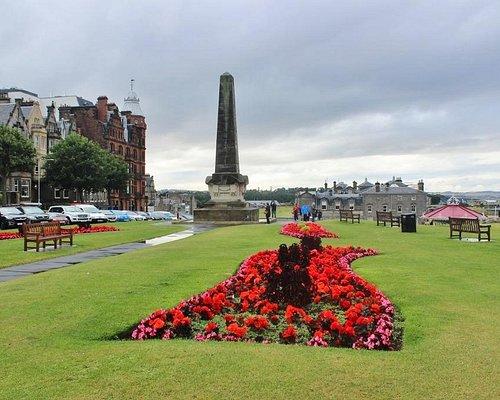 Martyrs Monument, St. Andrews, Scotland, Aug 2015