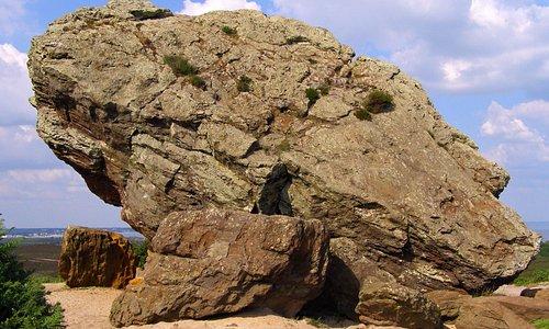 Agglestone rock
