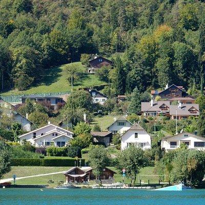Voie Verte du Lac d'Annecy, Annecy, França