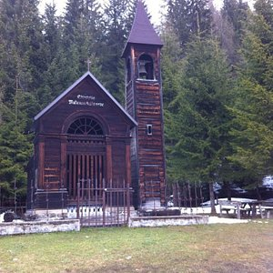 Foto della chiesetta dall'esterno
