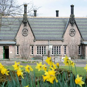 Lady Waterford Hall, Ford Village - spring time