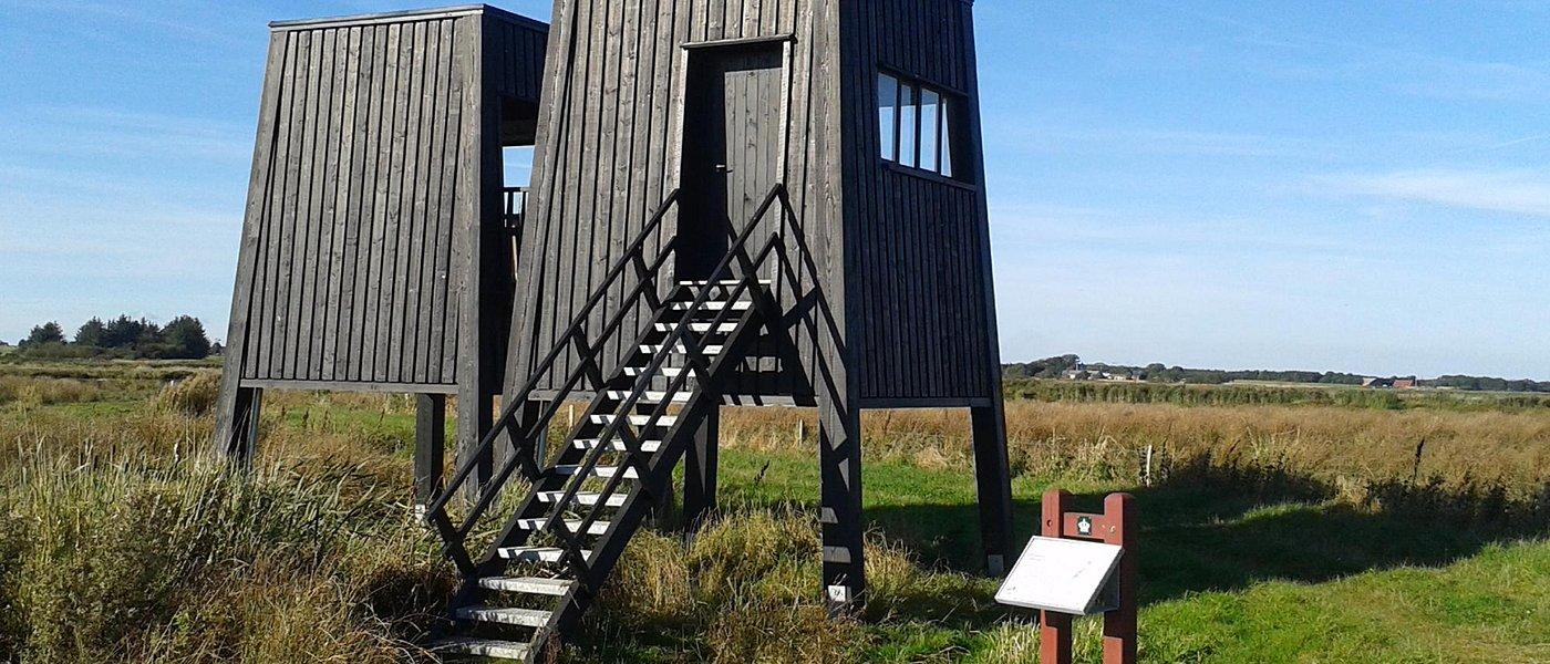 Fugletårnet på Bysted Møllevej