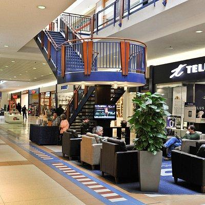 Les Galeries de Hull - zone de détente/relaxation zone