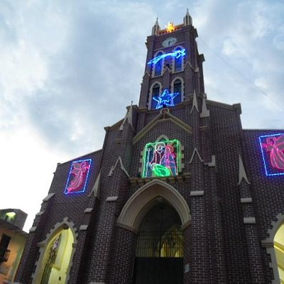 Vista Iglesia San Vicente de Paul - Icononzo Tolima