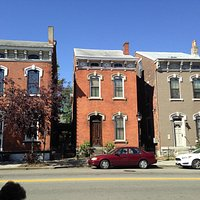 The old houses on MainStrasse...