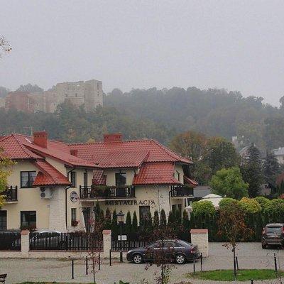 Widok na wzgórze zamkowe