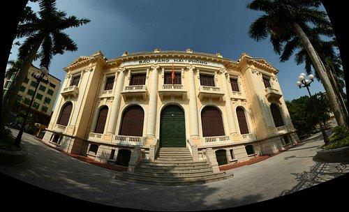 Hai Phong museum facade