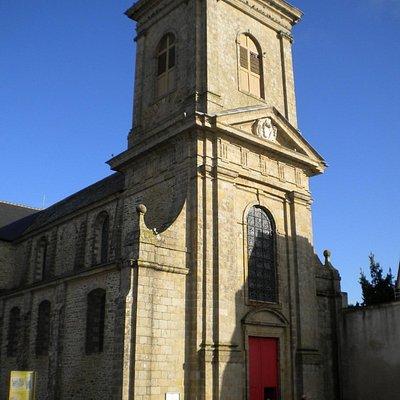 façade du clocher-porche