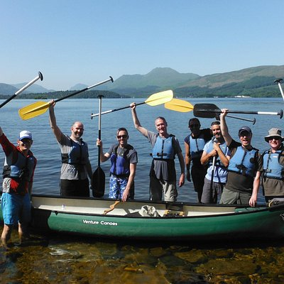 Canoeing on Loch Lomond