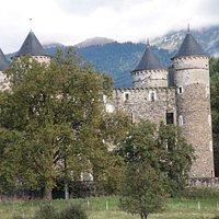 Paysage et le château