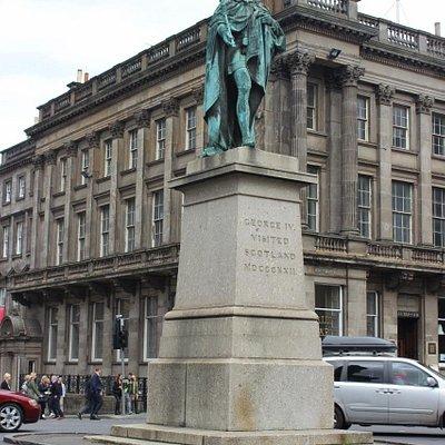 King George IV Statue, Edinburgh, Aug 2015