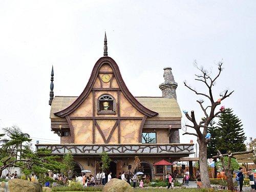 入口的建築物