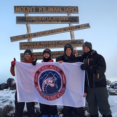 SUMMIT OF MT KILIMANJARO - CLIENTS FROM USA