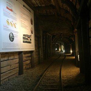 Una visita muy recomendable si quieres conocer todo lo que sucedió en la mina.En 1920!fue el may