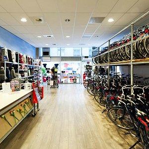 Our shop @Vondelpark/Leidseplein