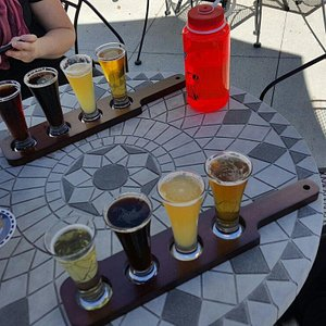 So many great choices.... so we had to go with the flights.