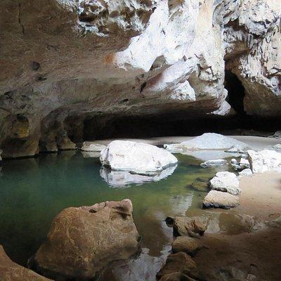 Tunnel creek entrance Pool