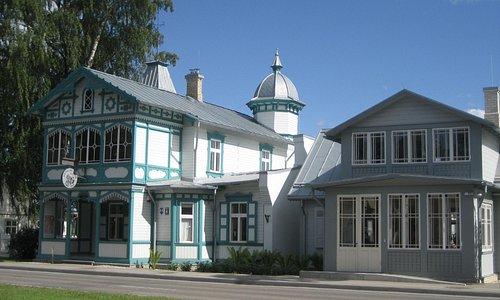Aspazija's House in Jurmala