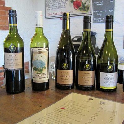 Wines at Battle of Boswell