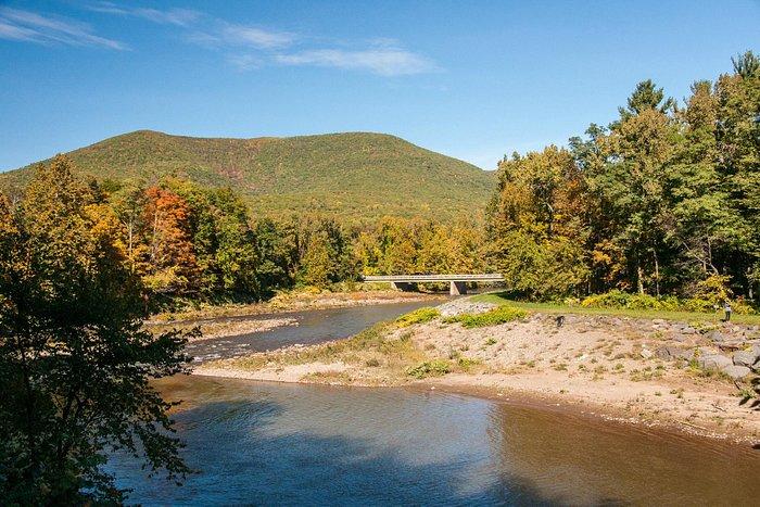 Mountain Views on the Esopus Creek.