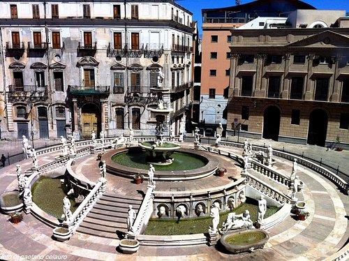 vista dal palazzo Pretorio