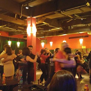 another local milonga - such an eyeopener!