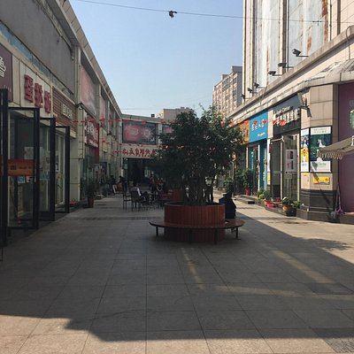 Laodong street is a small trendy side street near to the people's park, lots of small clothes sh