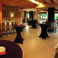 Salle de restaurant en situation séminaire