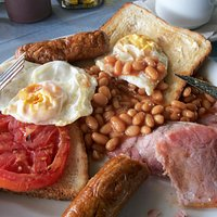 The mighty full English breakfast - Nefelli