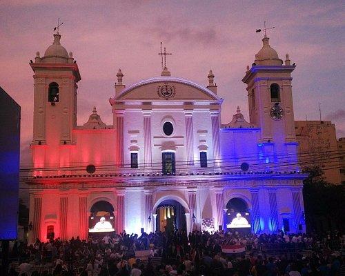 Catedral para la visita de Francisco