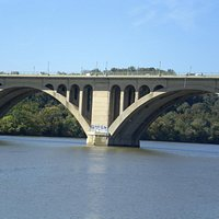 Key Bridge over Potomac River