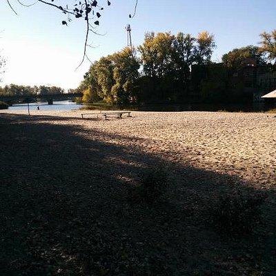 Vorskla River bank